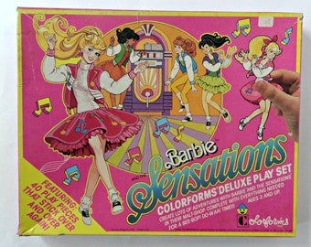 Vintage Barbie and the Sensations Color forms Deluxe Play set