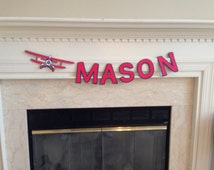 Popular items for airplane room decor on Etsy