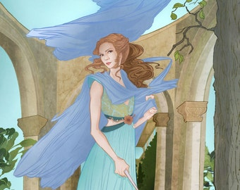 Margaery Tyrell From Game of Thrones Poster