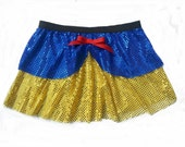 Snow White Inspired Running Skirt