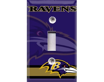 Baltimore Ravens Light Switch Cover