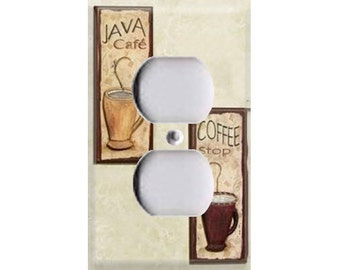 Coffee Java Outlet Cover