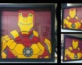 "12""x12"" Iron Man Bust"