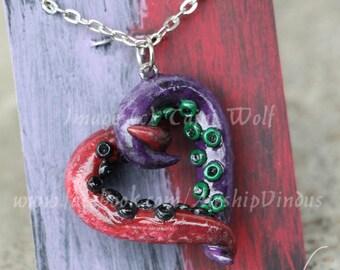 Popular items for joker harley quinn on etsy for Harley quinn and joker jewelry