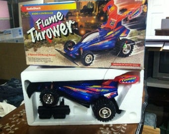 RadioShack RC Car Turbo Buggy Flame Thrower 12v with Box