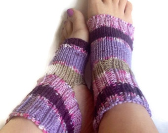 Flip flop socks| SPA socks| Hand knit Yoga socks|  Pilates  Dance |  Pedicure socks.