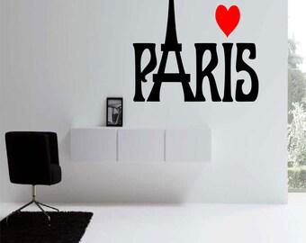 Paris Wall Decal