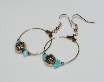 """Earrings """"Sea Queen"""""""