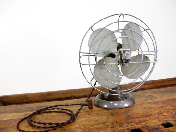 Vintage Desk Fan Emerson Electric Fan Saint Louis Missouri