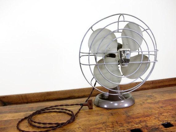 Emerson Desk Fan : Vintage desk fan emerson electric saint louis missouri