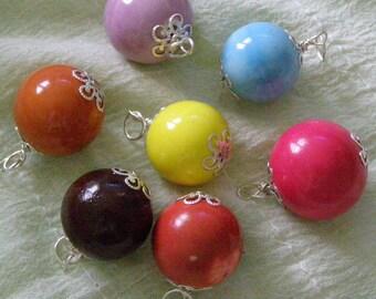 Ceramic Ball pendant