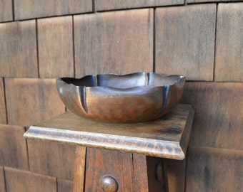 Coppercraft - Hammered Copper Bowl - Hand Made - Model No. 128