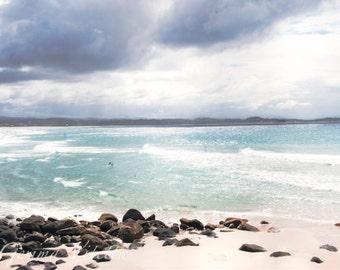 The Sea Will Guide You - Beach Photo, Waterscape Print, Summer Storm Photo, Beach Decor, Ocean Sea Art, Photo Gifts, Australian Beach