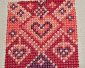 Hearts Basket Cloth