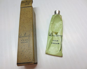 Woodbury Cold Cream Sample Tube Rare From the 50's