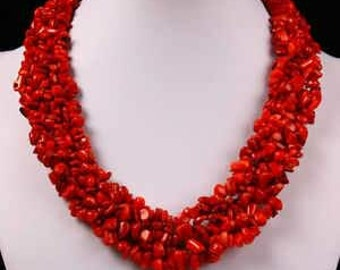 Statement Bead Cluster Necklace African Traditional Wedding