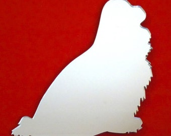 Cavalier King Charles Spaniel Dog Sitting Mirror - 5 Sizes Available