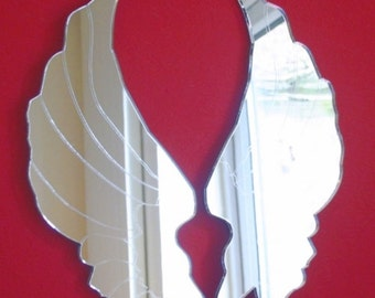 Angel Wings Mirrors - 5 Sizes Available