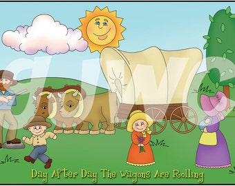 DAY after DAY Children's File Folder Game - Downloadable PDF Only