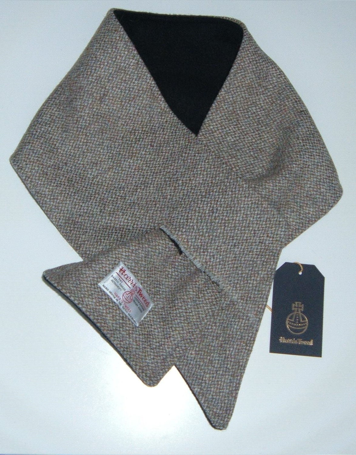 harris tweed scarf