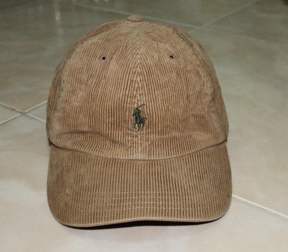 vintage polo ralph lauren corduroy cap hat used. Black Bedroom Furniture Sets. Home Design Ideas