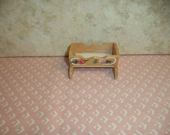 1:12 scale Dollhouse Chadwick Cradle