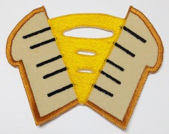 "Cheese Sandwich Cutie Mark Patch - MLP:FiM * ""Weird"" Al Yankovic"