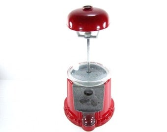 Gumball Machine, Red Gumball machine,carousel,candy machine,metal machine,