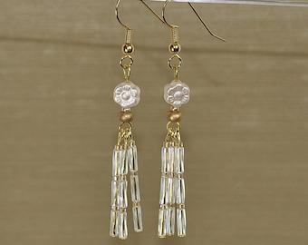 Shimmering Sunlight Daisies earrings