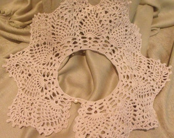 Crochet Collar from the 70's