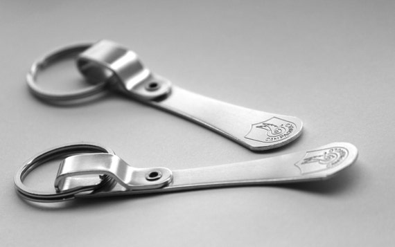 vintage Campagnolo bicycle toeclip keychain