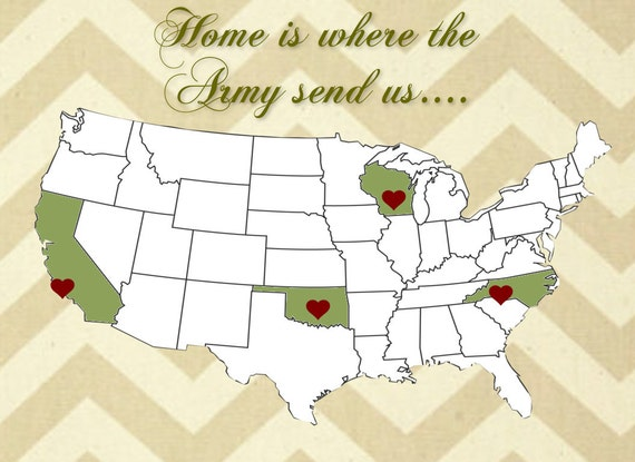 Home is where the Military sends us...