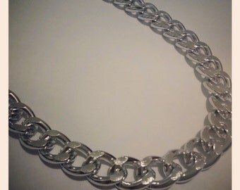 Silver chainnecklace