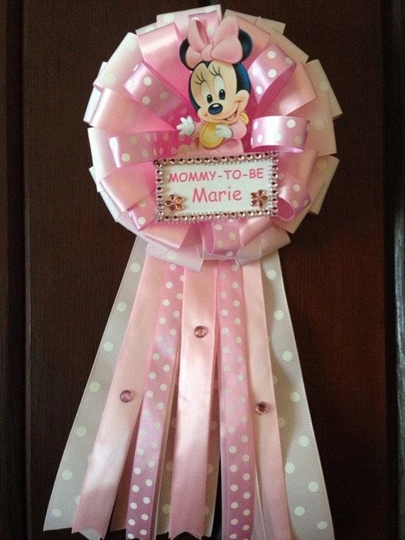Corsage para mama baby shower de niño - Imagui