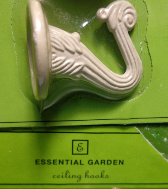 Plant Hanging Decorative Ceiling Hooks By Essential Garden