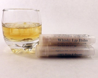 Whisky Natural Vegan Organic Lip Balm