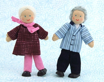Grandparent Dollhouse Dolls