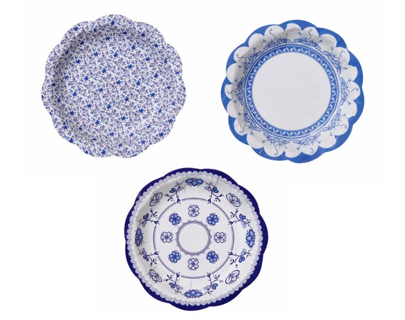 vintage style paper plates Vintage collection party supplies vintage collection square dessert plates 8 piece(s) $ 199 ivory paper dessert plates 24 piece(s) $ 148.