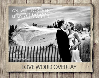 Wedding Quote Word Overlay - Love Wedding Phrase Photo Overlay - Text Photo - Wedding Photography Quote Photo Words Phrase INSTANT DOWNLOAD
