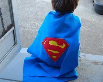 Superman Cape and Mask