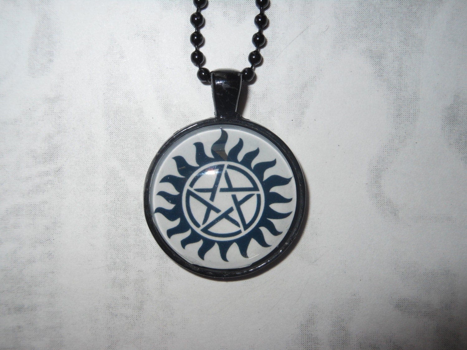 supernatural protection pendant by