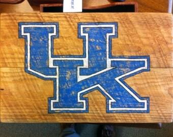 Handmade University of Kentucky Wildcats Wood Sign