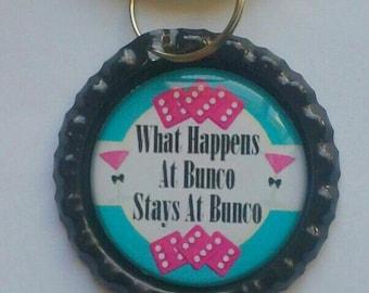 Bunco Keychain Bunco Gift