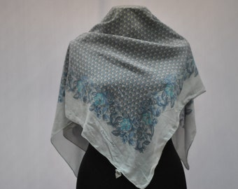 Vintage MEUNIER silk scarf ....