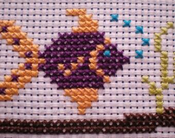 Reef the Fish Beginners Cross Stitch Kit Kids/Children