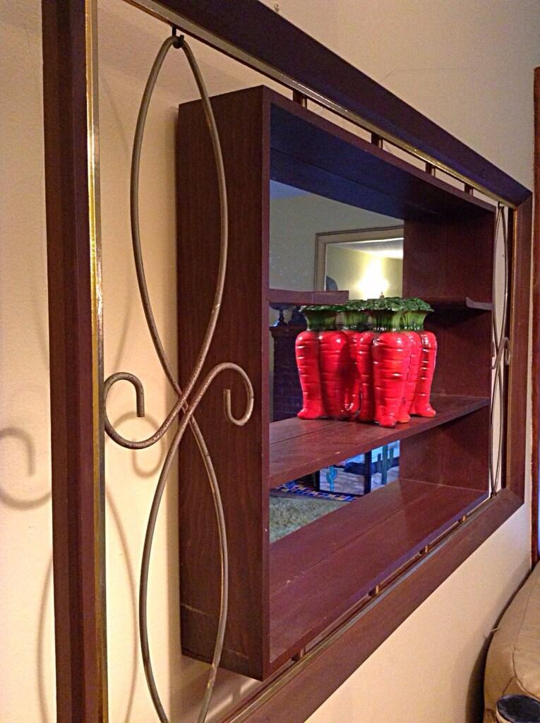 Mcm Turner Wall Accessory Shadow Box Mirror