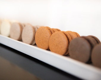 Gourmet French Macaron, Edible Gift Basket, Gift Basket - 2 dozens (4 flavors)