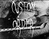 Custom Order For  Aryana M