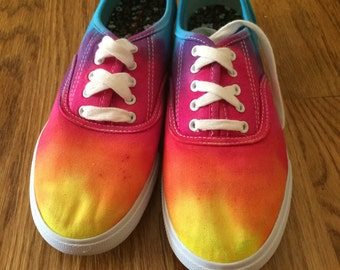 Tie Dye Shoes