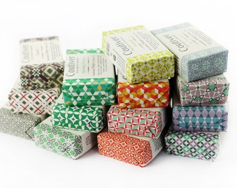 10 Organic vegan Soap cruelty free - Pack Gift Set Mix and Match your pleasure - FREE POSTAGE